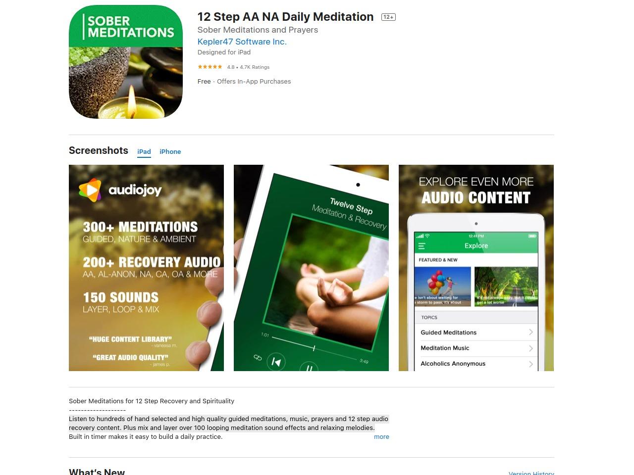 Sober Meditations App | Sober Eastbourne